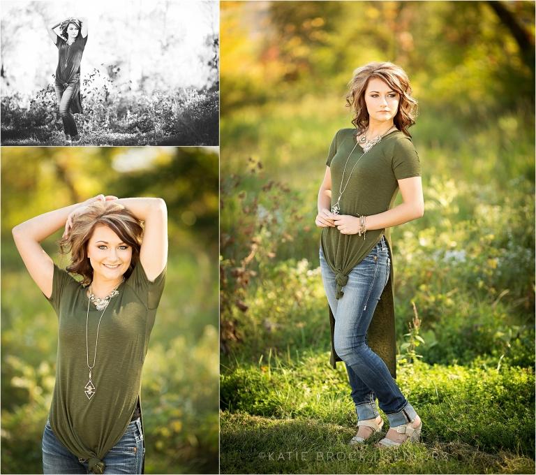 ND summer senior photos