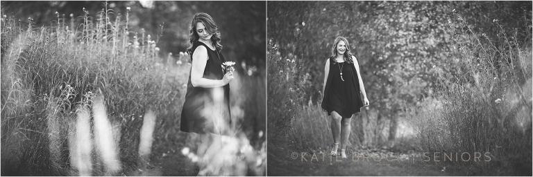black&white senior pictures