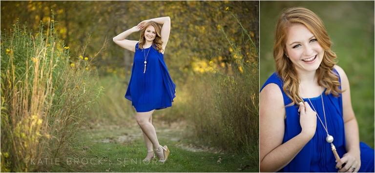 Fall senior photo session