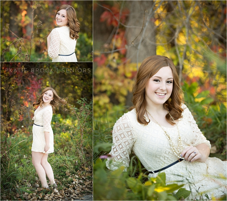 Outdoor senior pictures