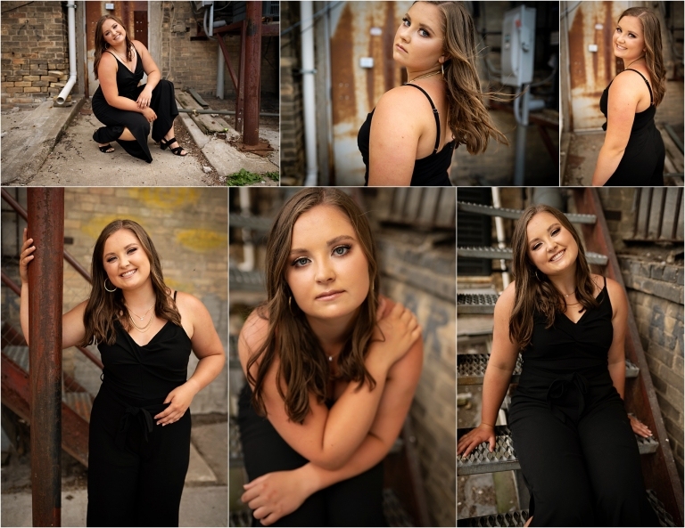Downtown Senior Photos ND