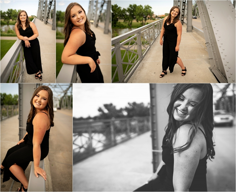 Downtown Senior Photos